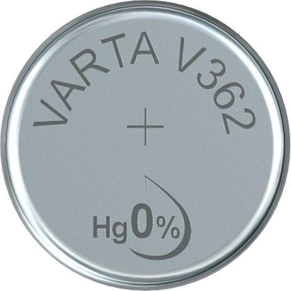 Silberoxid-Knopfzelle Typ SR58 / V362 von Varta